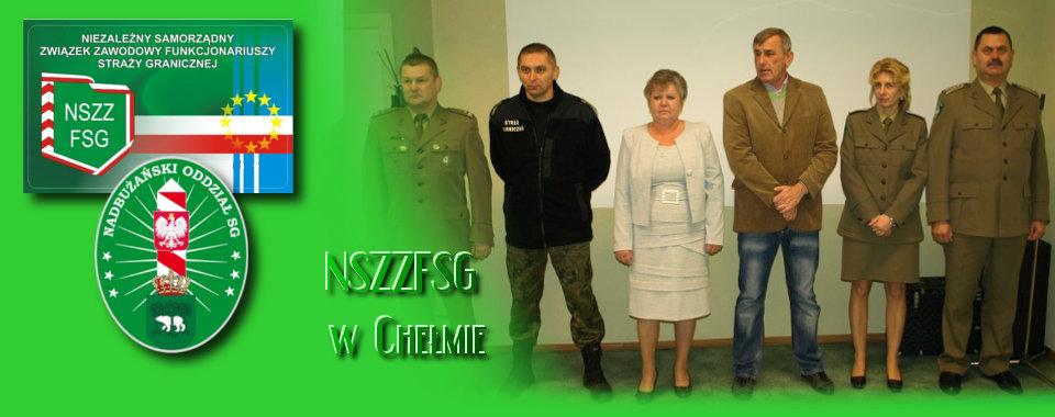 Wręczenie medali XX-lecia NSZZ FSG w Komendzie Oddziału