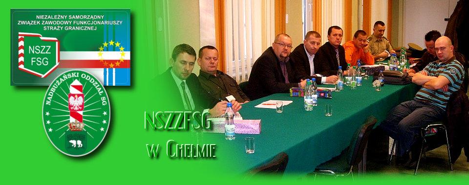 Posiedzenie Zarządu Oddziałowego NSZZ FSG w Chełmie