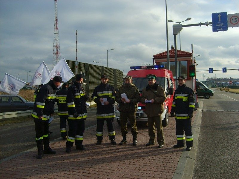 Protest w Hrebennem 10.01.2012