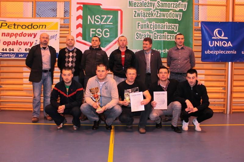 NwOSG Warszawa IV miejsce w turnieju i związkowcy