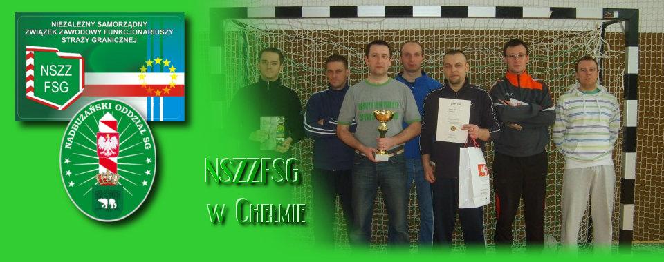 Placówka SG w Hrebennem najlepsza w Turnieju o Puchar Wójta Gminy w Lubyczy Królewskiej