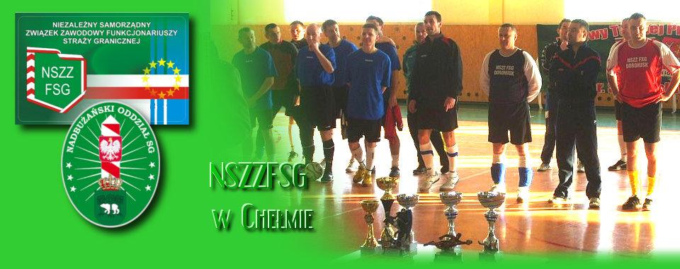 II Turniej Halowej Piłki Nożnej im. por. SG Zdzisława Główki w Hrubieszowie