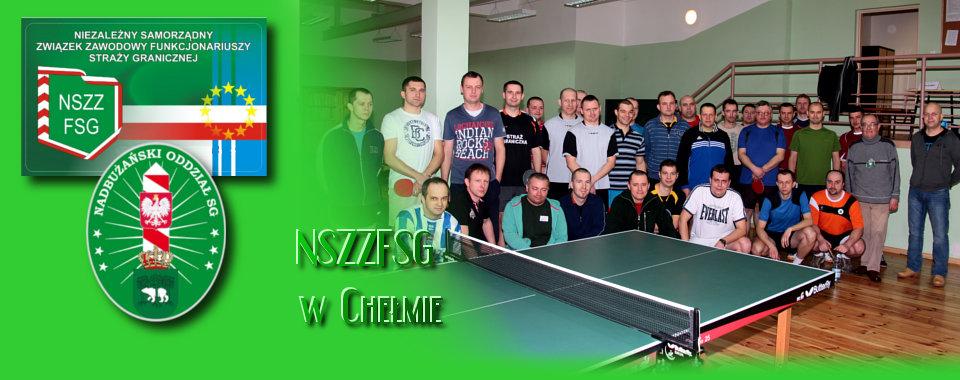 I Mistrzostwa Nadbużańskiego Oddziału SG w tenisie stołowym