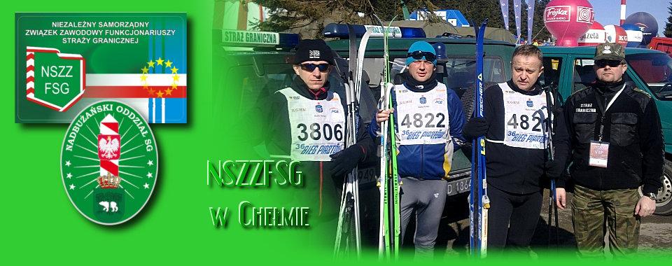"""""""Biegu Piastów"""" funkcjonariusze Straży Granicznej rywalizują w Mistrzostwach SG w biegach narciarskich"""