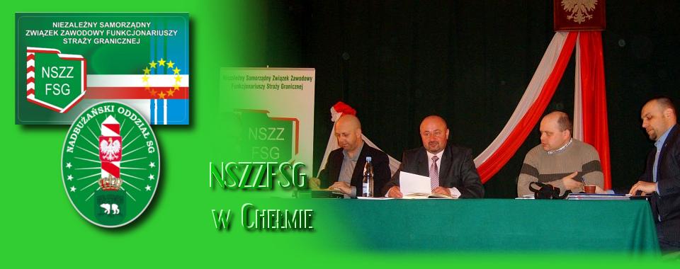 Posiedzenie Zarządu Oddziałowego i spotkanie przedświąteczne z Komendantem NOSG w Chełmie