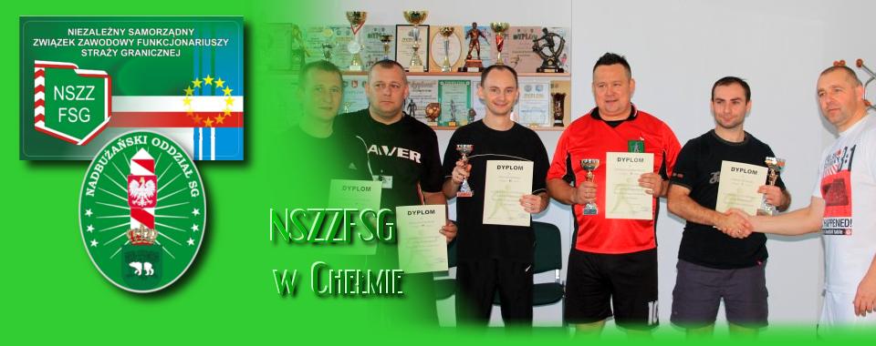 I Turniej Tenisa Stołowego o Puchar Komendanta PSG we Włodawie