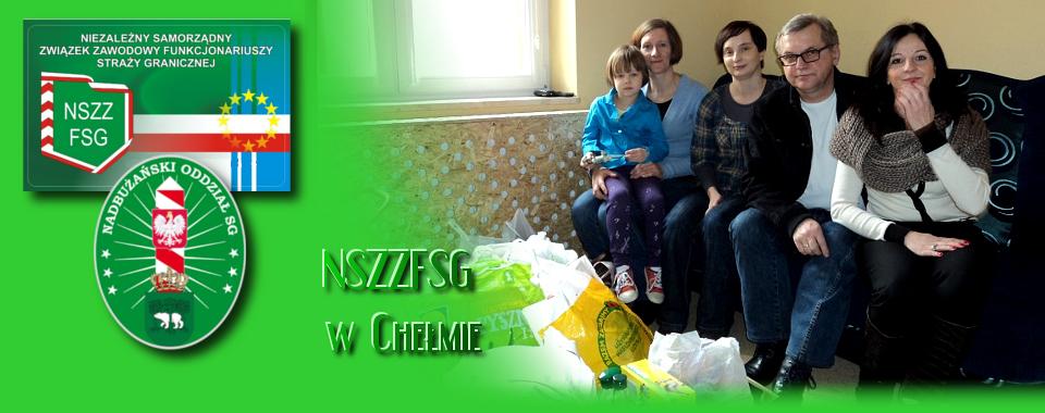 Związkowcy z Włodawy przekazali dary dla dzieci z Domu Dziecka