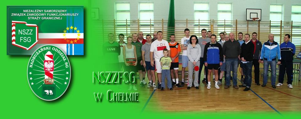 Sławomir Olszewski najlepszy w II mistrzostwach NOSG w tenisie stołowym.