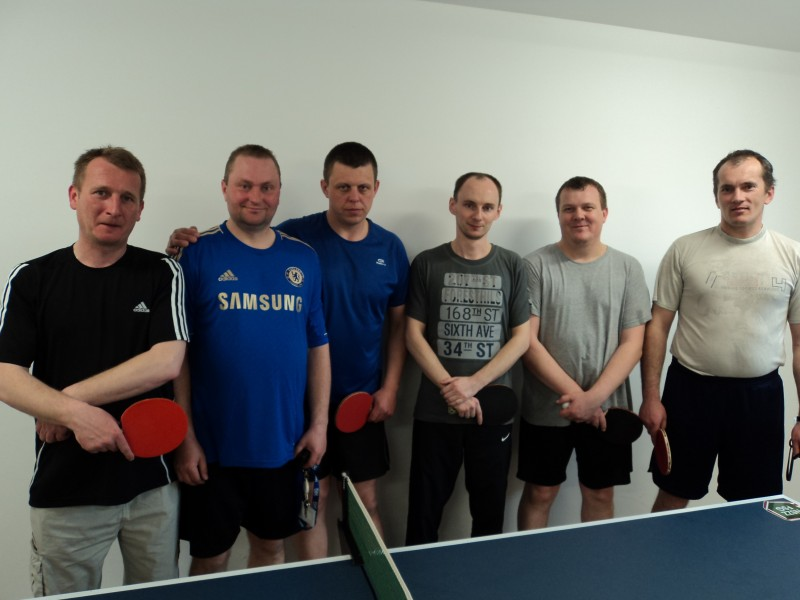 II Turniej Tenisa Stołowego o Puchar Komendanta PSG Włodawa