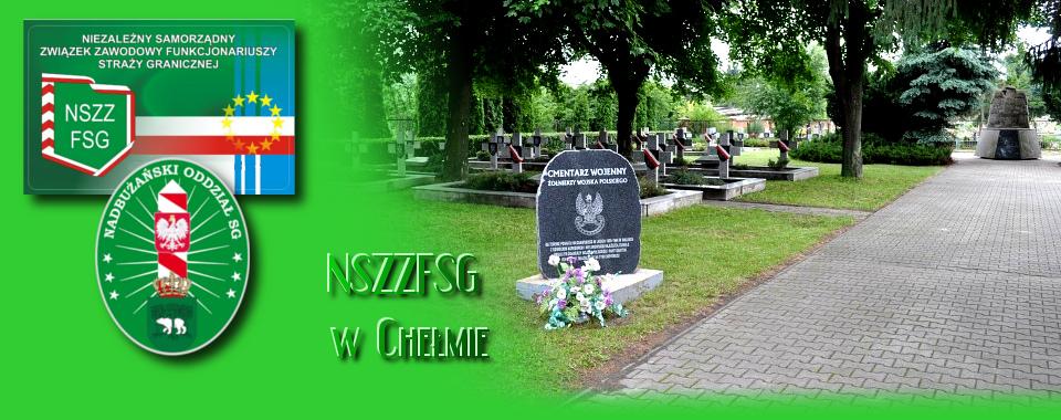 Związkowcy z Włodawy porządkowali cmentarz żołnierzy we Włodawie