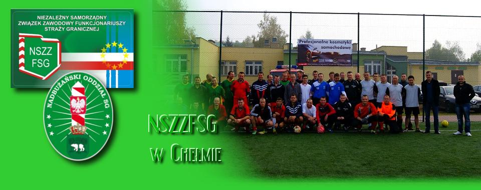 Turniej Piłki Nożnej o Puchar Komendanta PSG w Białej Podlaskiej.