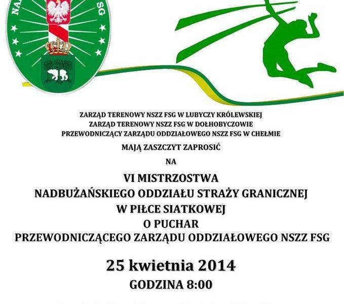 VI Mistrzostwa NOSG w Piłce Siatkowej