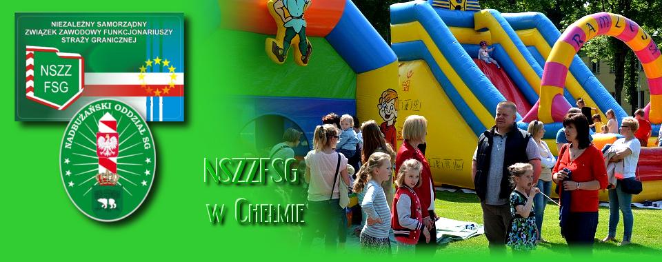Dzień Dziecka w Komendzie NOSG w Chełmie