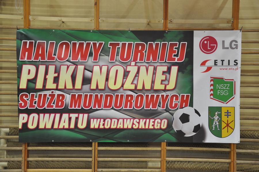 VIII Turniej Halowej Piłki Nożnej Służb Mundurowych Powiatu Włodawskiego im. ppłk SG Andrzeja Stańca