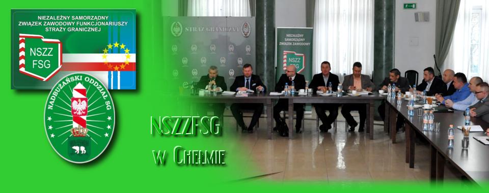Przewodniczący oraz wiceprzewodniczący uczestniczyli w posiedzenie Zarządu Głównego NSZZ FSG