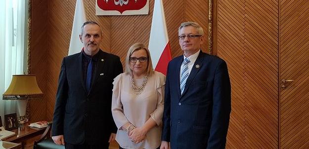 Spotkanie robocze z Panią Minister Beatą Kempą