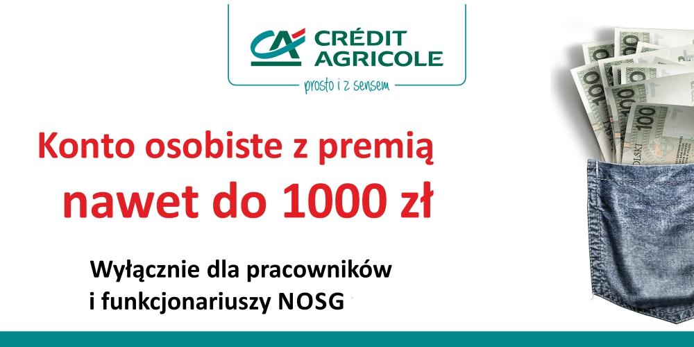 Oferta specjalna – Credit Agricole Bank Polska S.A