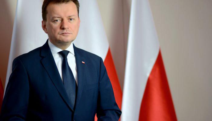 MSWiA Mariusz Błaszczak zapewnia że rząd nie zamierza zmieniać systemu emerytalnego służb mundurowych