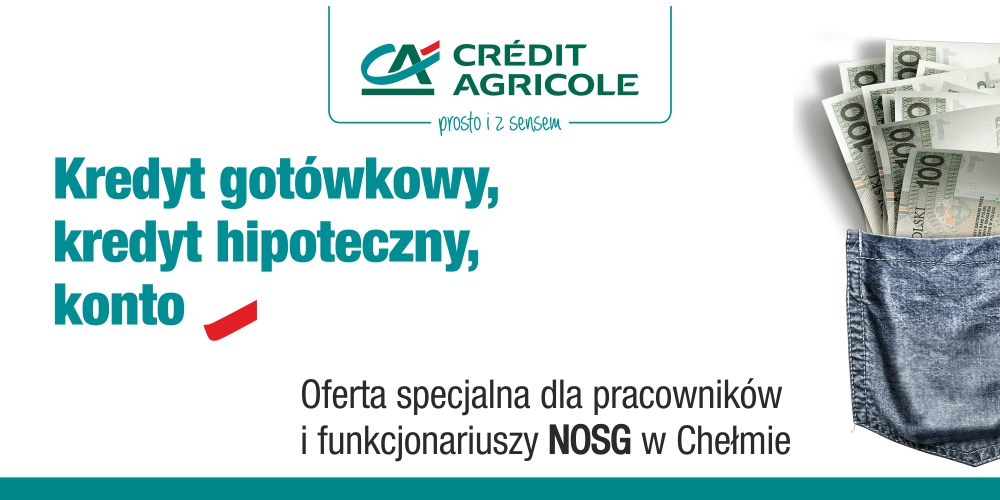 Oferta specjalna Credit Agricole Bank Polska
