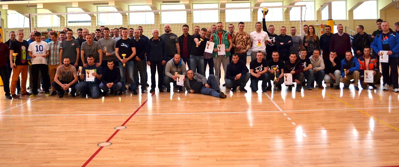 VIII Mistrzostwa Nadbużańskiego Oddziału Straży Granicznej w Piłce Siatkowej o Puchar Przewodniczącego Zarządu Oddziałowego NSZZ Funkcjonariuszy Straży Granicznej.