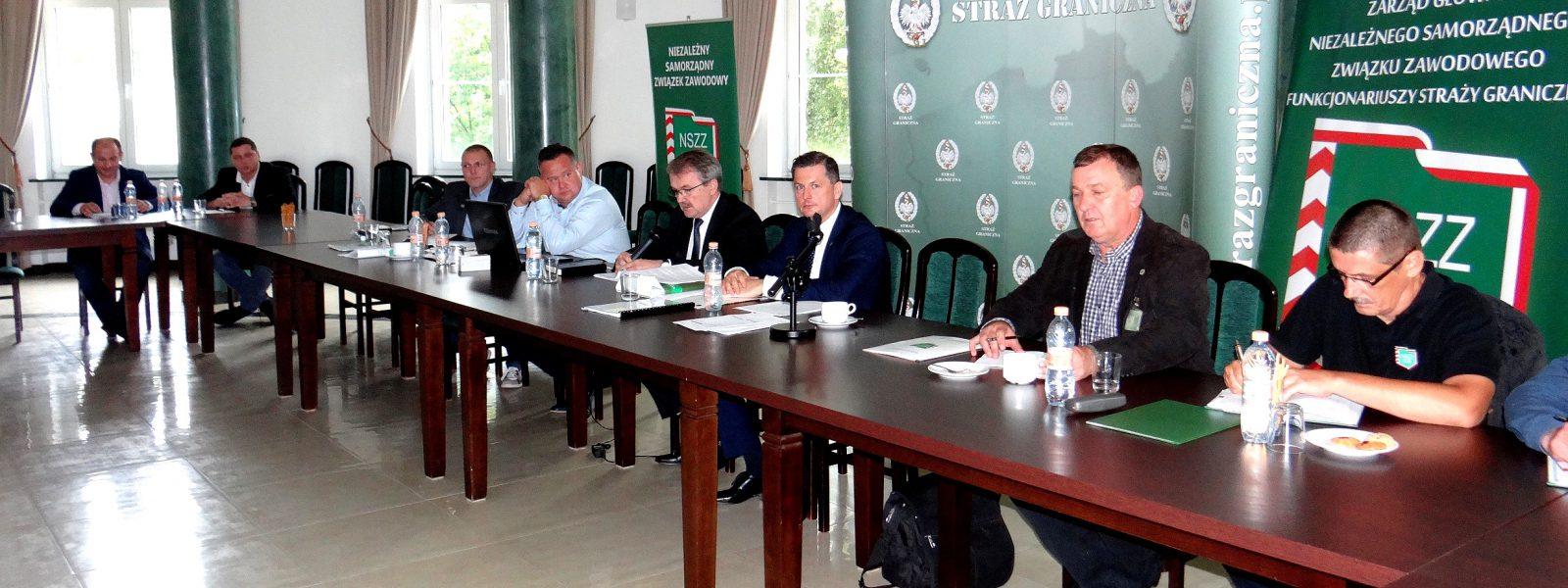 Posiedzenie ZG NSZZ FSG w Warszawie