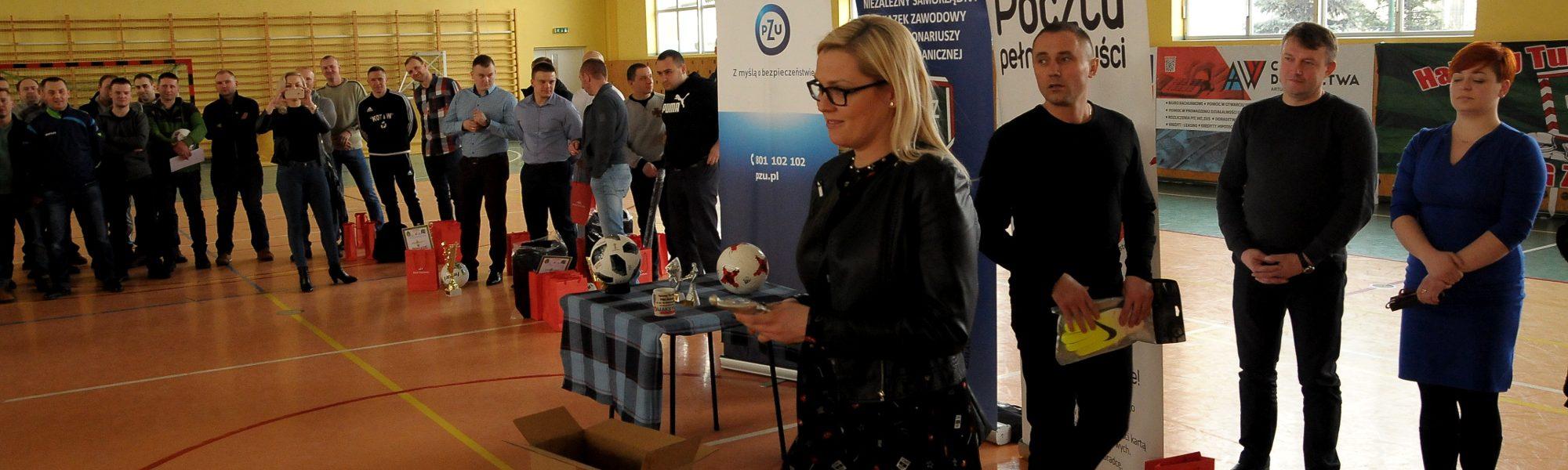 VIII Turniej Halowej Piłki Noznej im. por. SG Zdzisława Główki