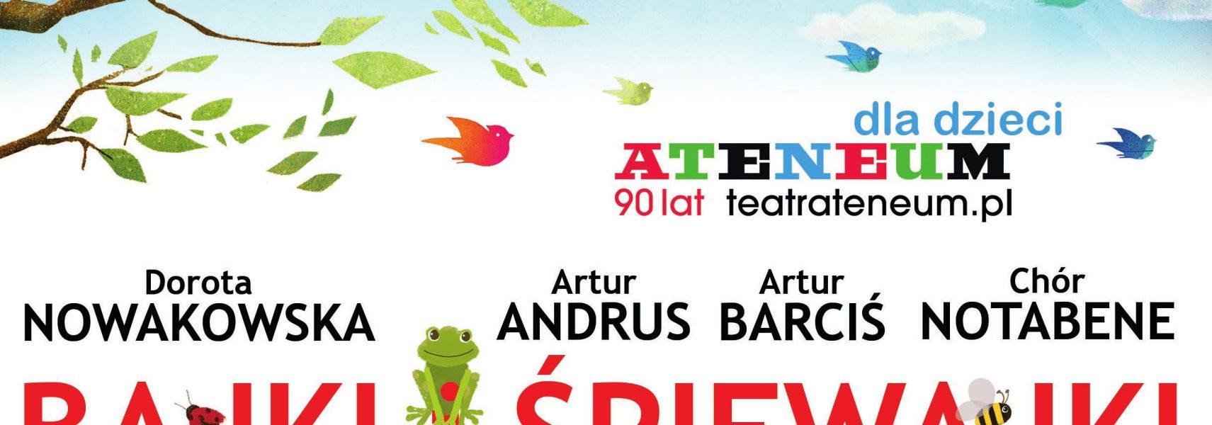 Zaproszenie na wyjątkowy spektakl z okazji Dnia dziecka w Teatrze Ateneum