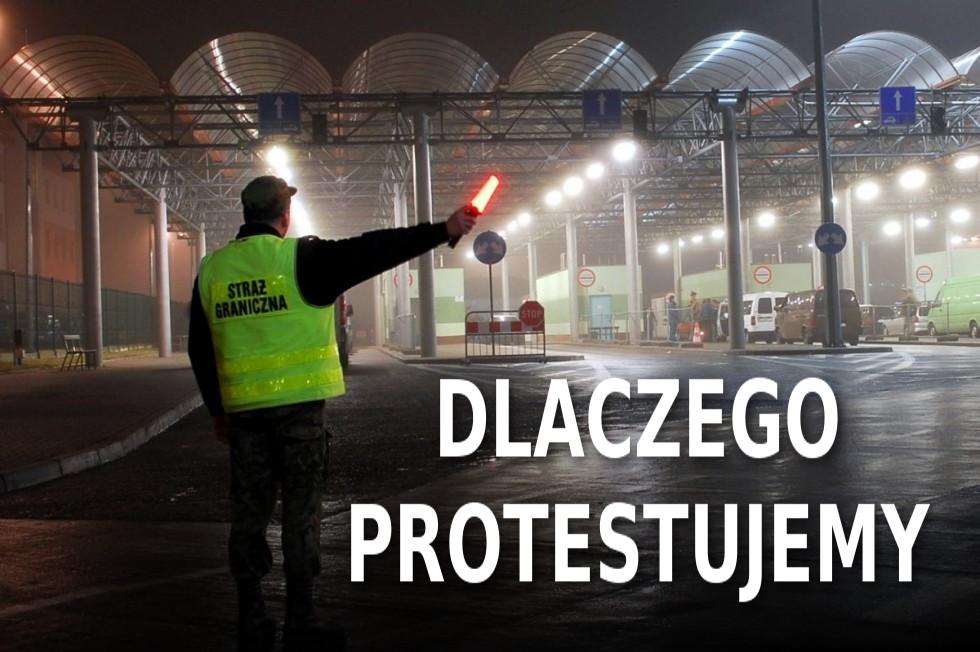 Dlaczego NSZZ FSG protestuje