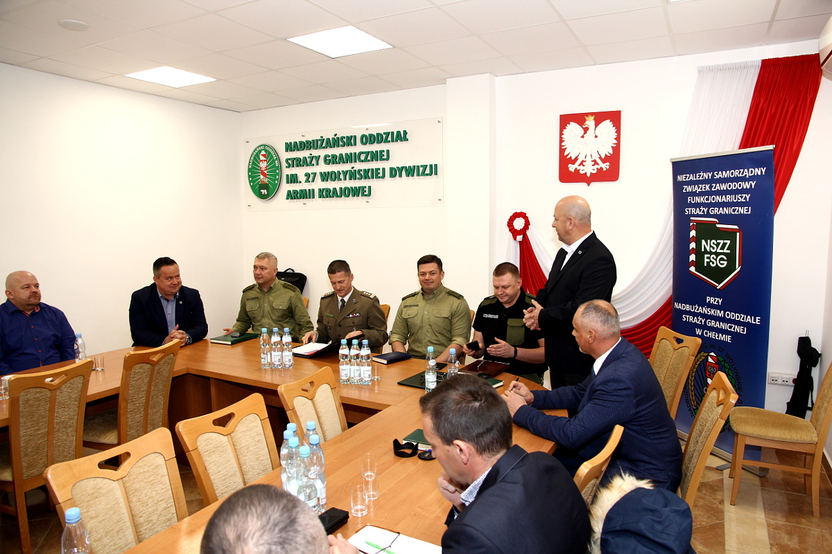 Posiedzenie Zarządu Oddziałowego NSZZ FSG