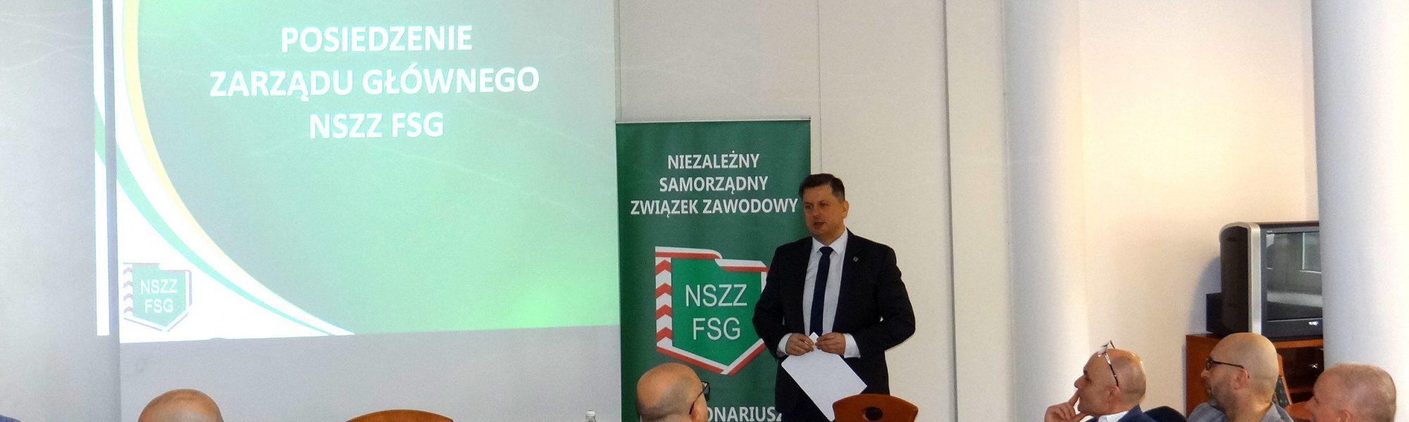 Komunikat z posiedzenia Zarządu Głównego NSZZ FSG