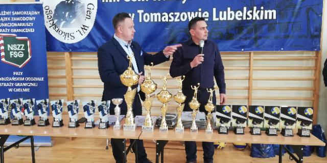 X Mistrzostwa w Piłce Siatkowej o Puchar Przewodniczącego Zarządu Oddziałowego NSZZ Funkcjonariuszy Straży Granicznej