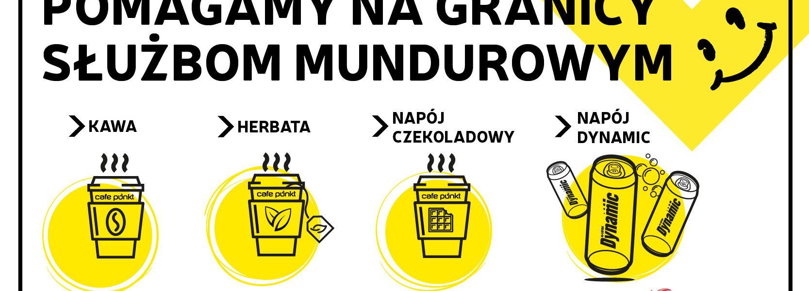 Grupa LOTOS wesprze wszystkich funkcjonariuszy na służbie działających na granicy Polski