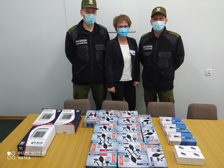 NSZZ FSG wspiera Szpital we Włodawie w walce z koronawirusem